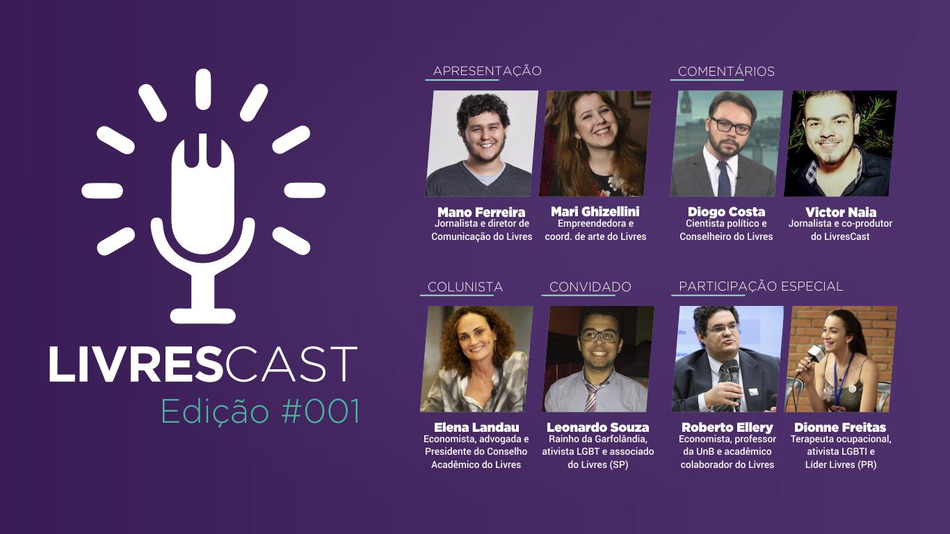 2 anos sob Temer, dia mundial contra homofobia | LivresCast #001 com Diogo Costa e Leonardo Souza
