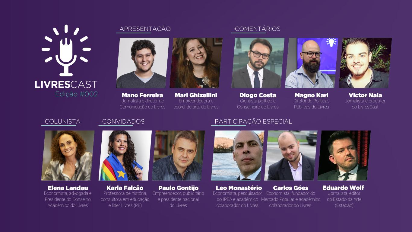 Embaixadores de Zeis e Venezuela | LivresCast #002 com Karla Falcão e Paulo Gontijo