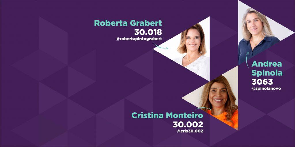 Conheça líderes Livres que são candidatas em São Paulo!