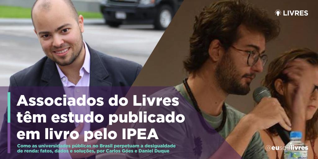 Associados do Livres participam de publicação do IPEA