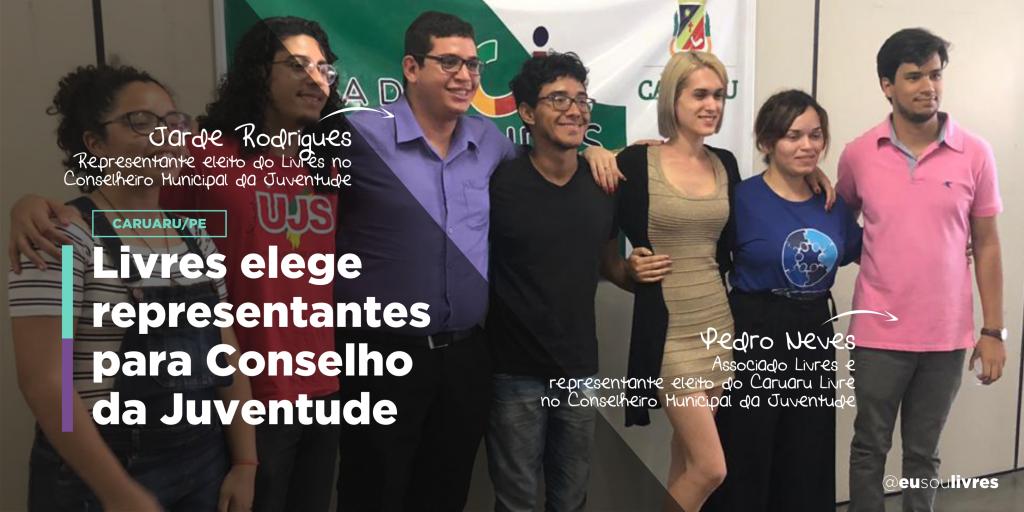 Livres elege membros para Conselho da Juventude em Caruaru