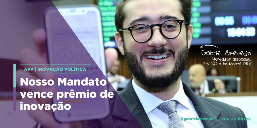 App Nosso Mandato vence prêmio de inovação