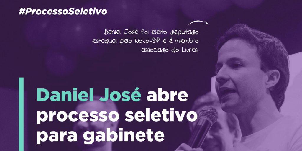 Participe de seleção para trabalhar com o Daniel José
