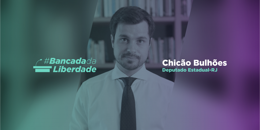Chicão Bulhões entra para #Bancada Da Liberdade!