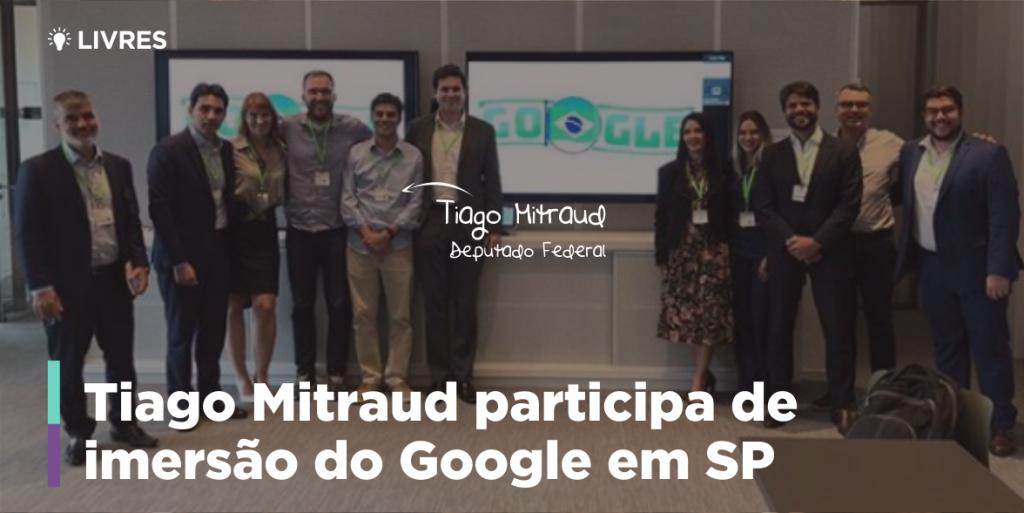 Tiago Mitraud em imersão do Google em SP