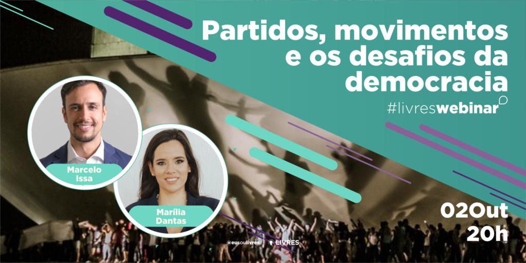 Partidos, movimentos e os desafios da democracia