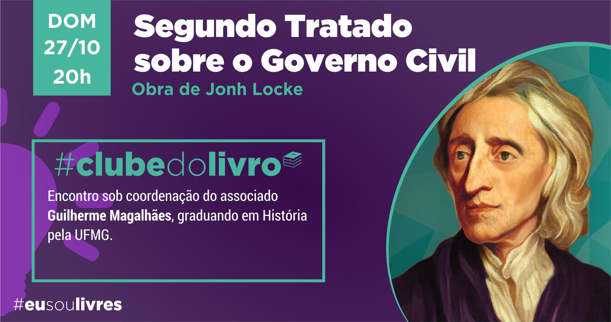 Clube do Livro recupera o legado de John Locke