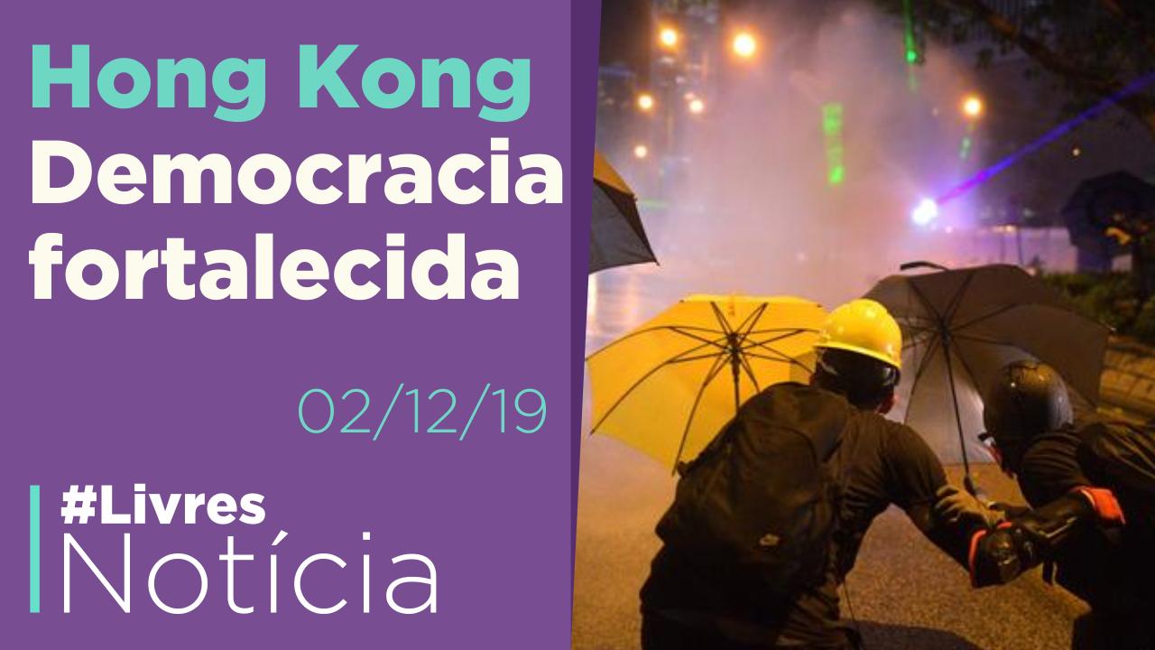 O que está acontecendo em Hong Kong?