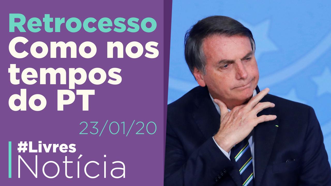 Bolsonaro piora a democracia brasileira