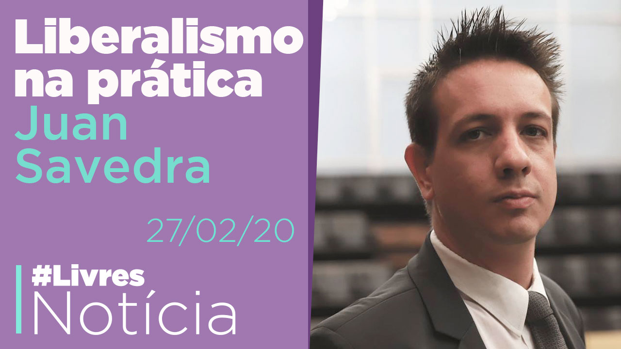 Liberalismo por inteiro e na prática: entrevista com Juan Savedra