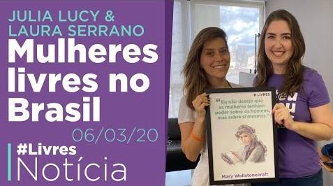 Mulheres liberais na política: entrevista com Julia Lucy e Laura Serrano