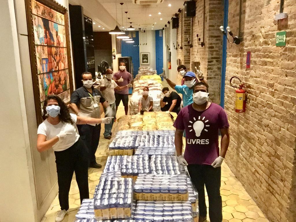 Projeto #ApoieUmaFamília arrecada mais de 10 toneladas de alimento em Pernambuco