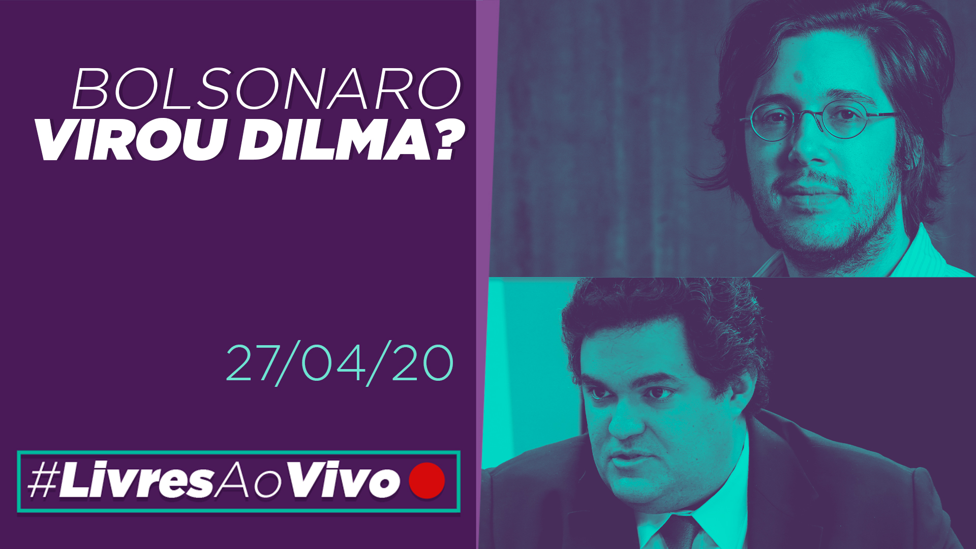 Bolsonaro virou Dilma?