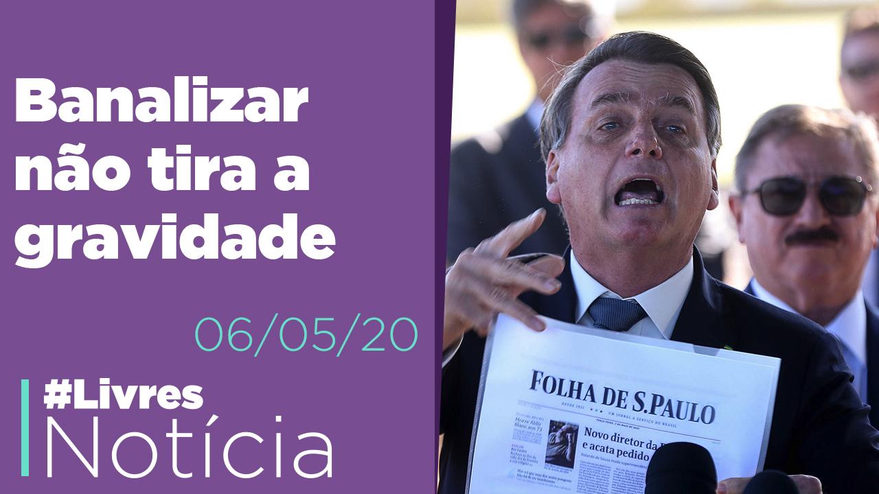 Bolsonaro se incrimina e confessa interferência na PF