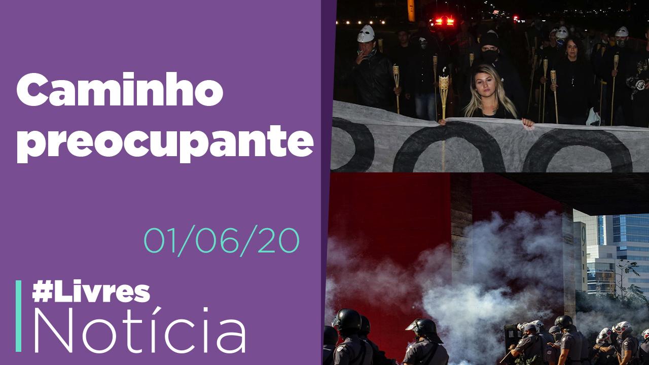 Referência a KKK, Conflito na Paulista, Alerta de Celso de Melo e Racismo nos EUA