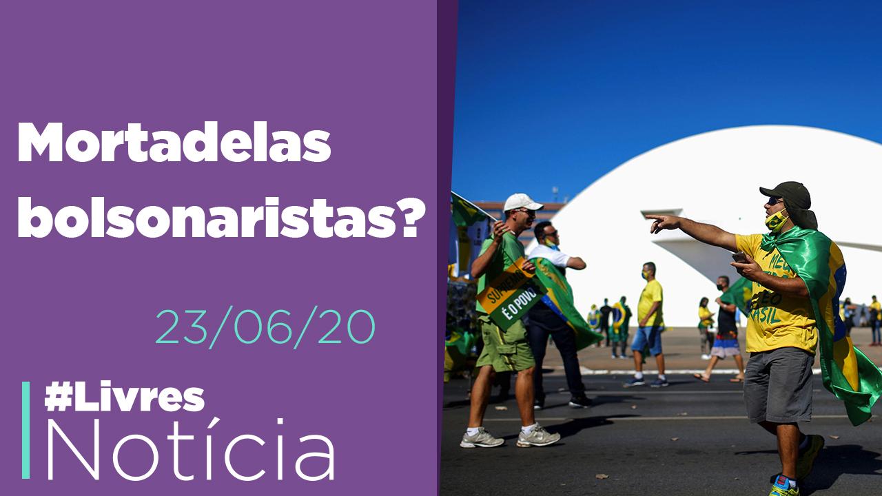 Dinheiro público em protestos, saneamento, mudança no Rio e racismo na Nascar