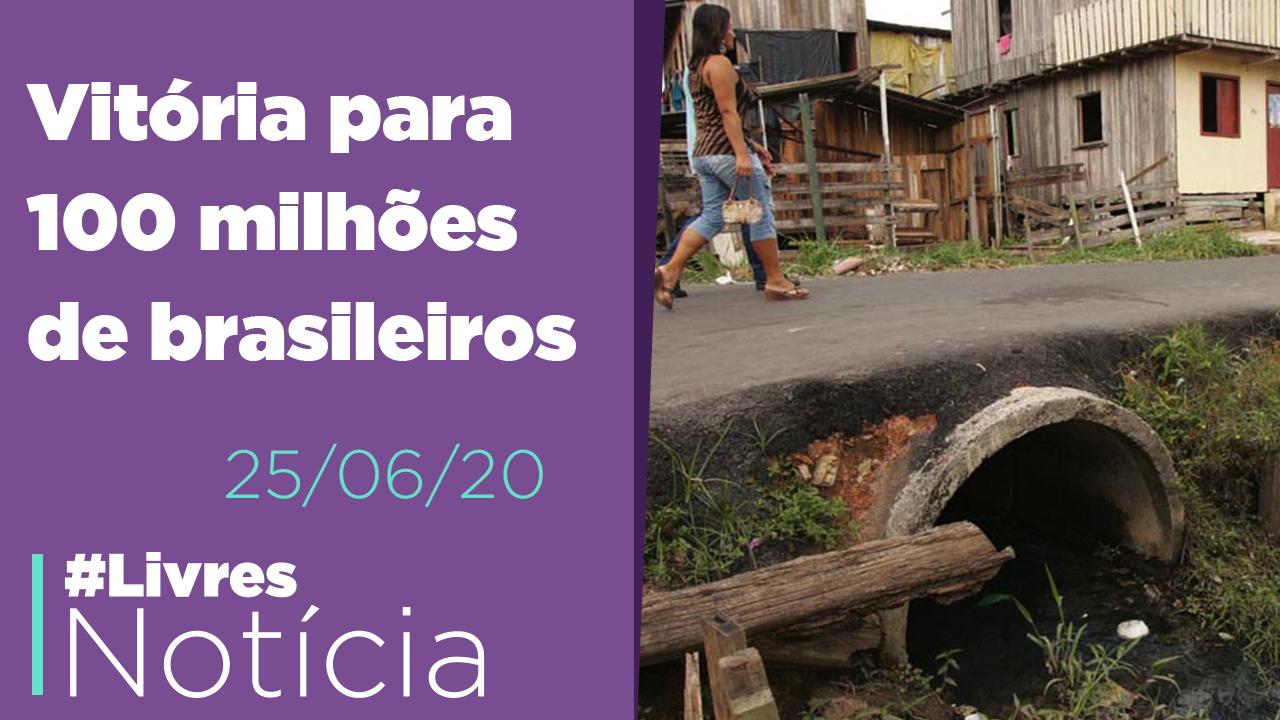 Vitória no saneamento, Derrota no STF, Livres em Minas