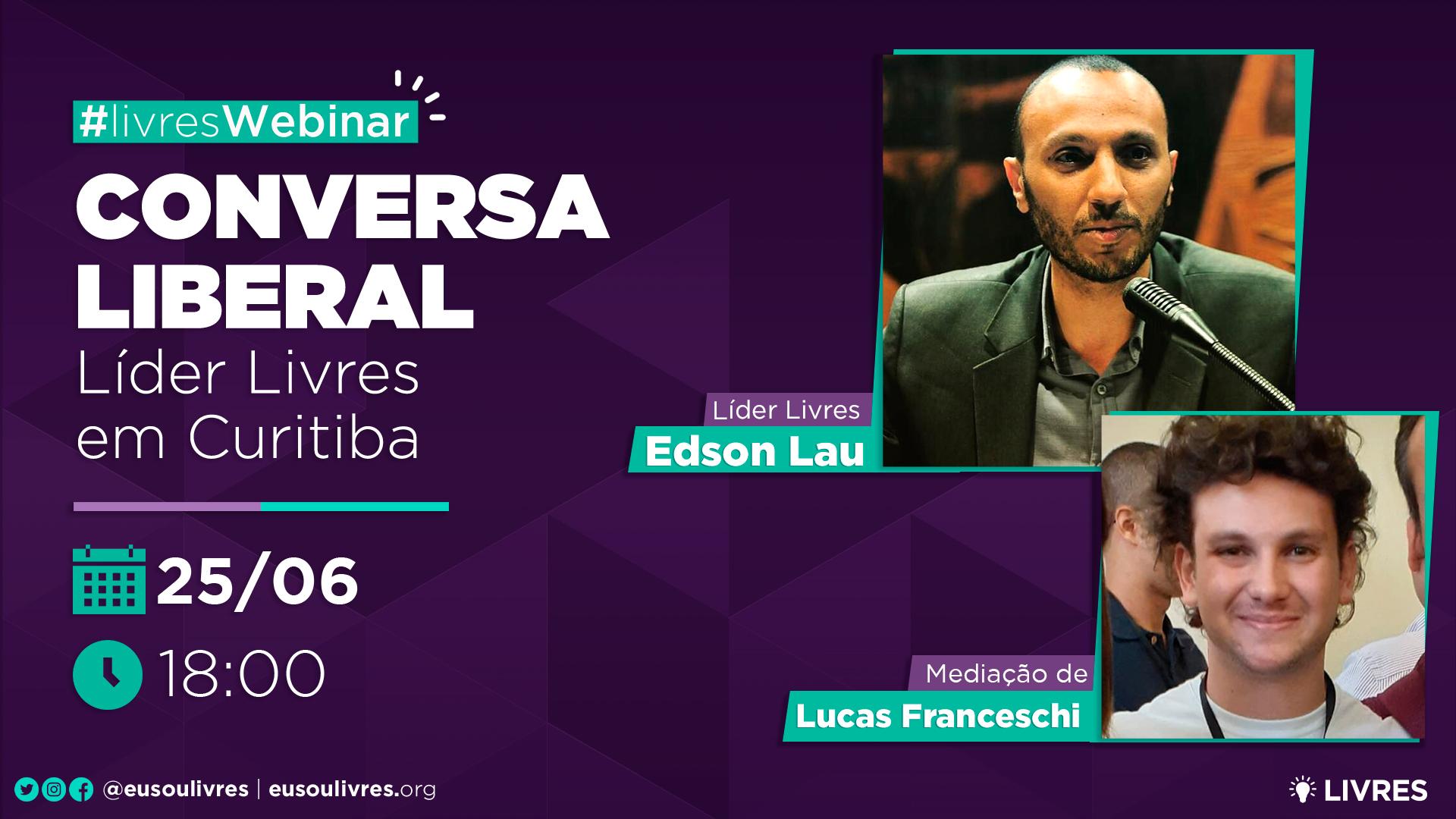 Líderes Livres do Paraná participam de bate-papo com associados