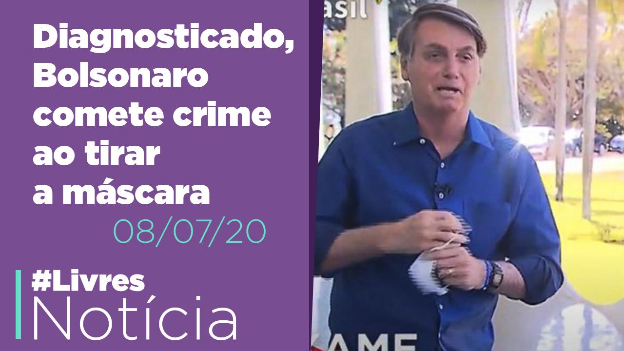 Bolsonaro com Covid, Reforma administrativa e Auxílio emergencial