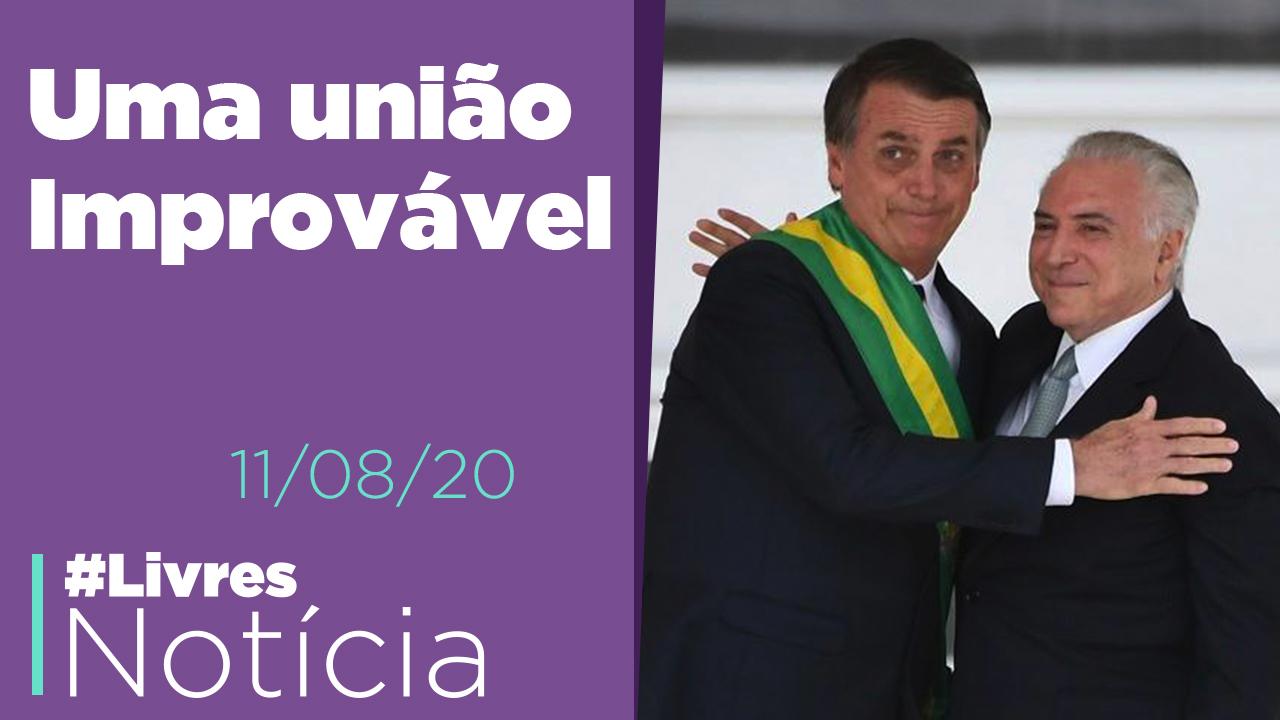 Bolsonaro convida Temer, Polêmica com Marília Mendonça, Eduardo Jorge