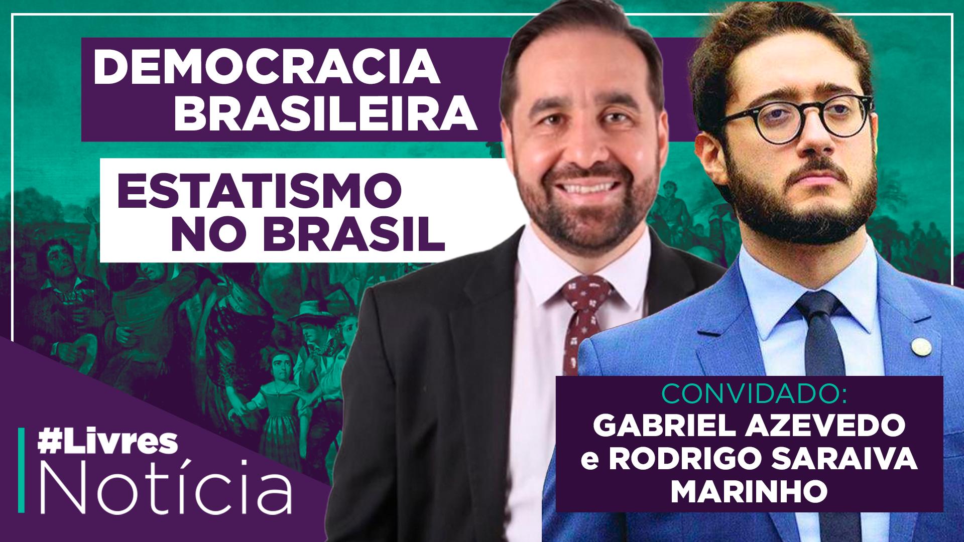 LivresNotícia AO VIVO – 07/09/2020 | Gabriel Azevedo e Rodrigo Marinho