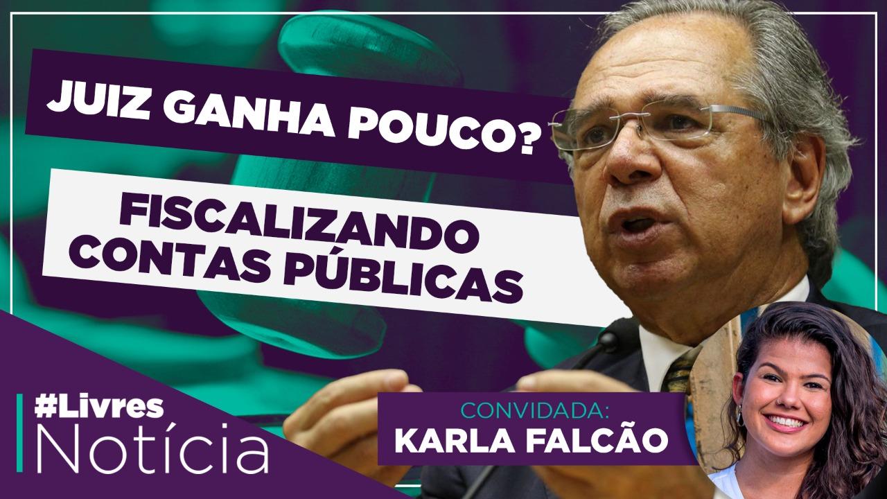 Arroz tá caro; Corrupção na pandemia | LivresNotícia AO VIVO – 09/09/2020 – Karla Falcão