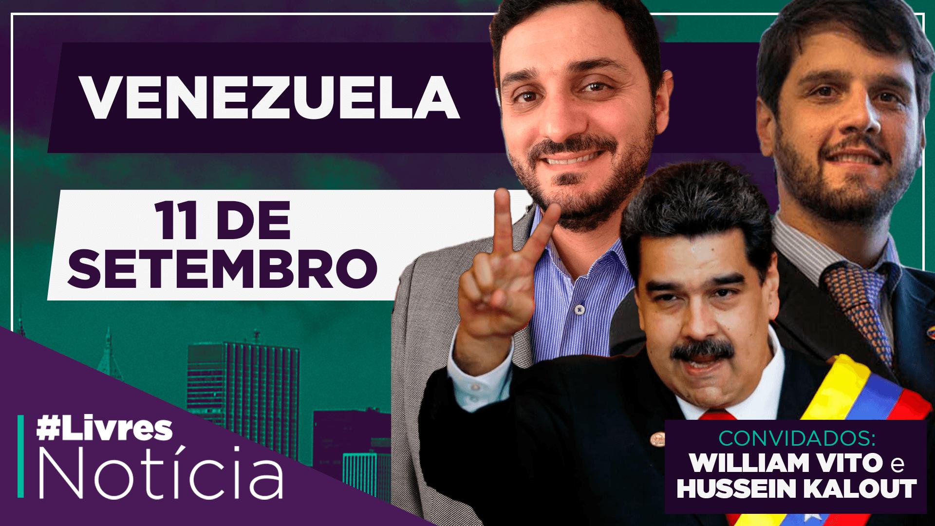 Terrorismo e a situação da Venezuela | LivresNotícia AO VIVO – 11/09/2020