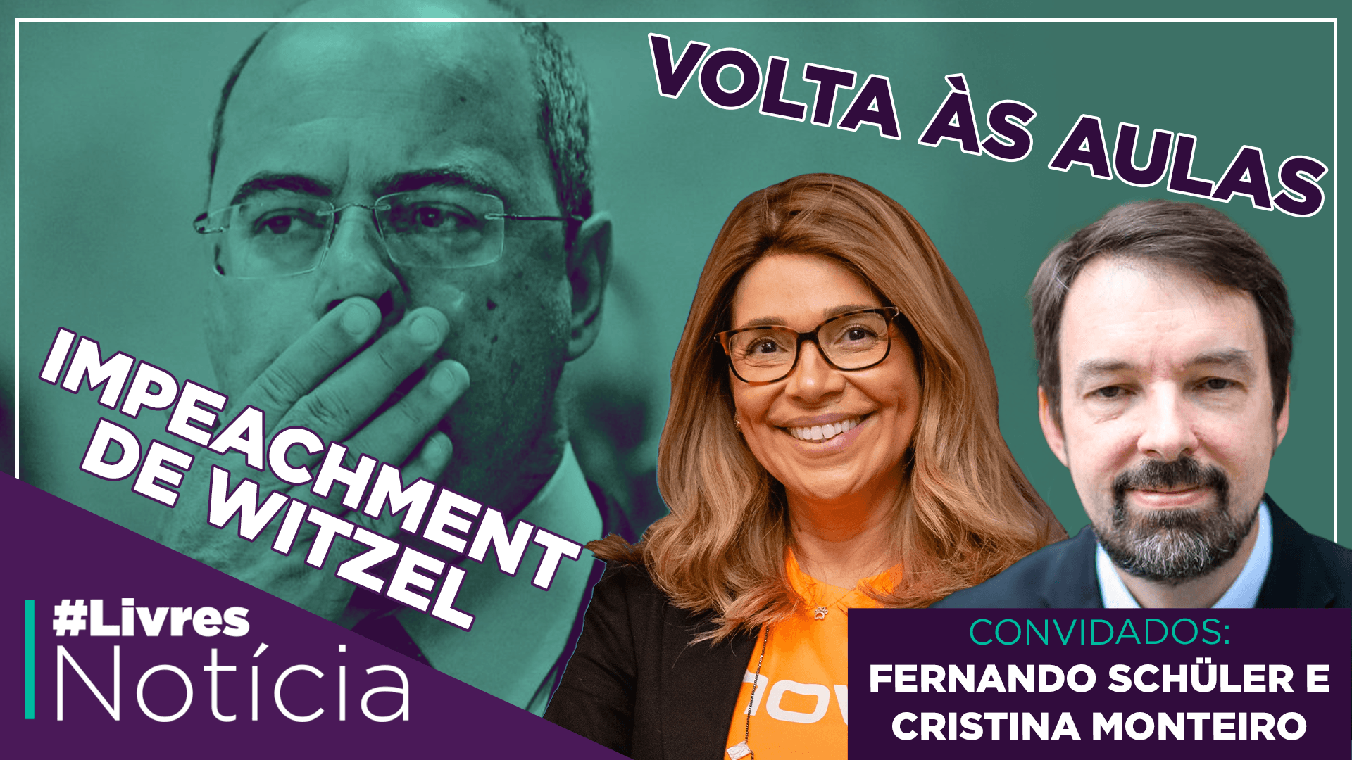 O MEC e a volta às aulas | LivresNotícia AO VIVO com Fernando Schüler e Cris Monteiro  – 24/09