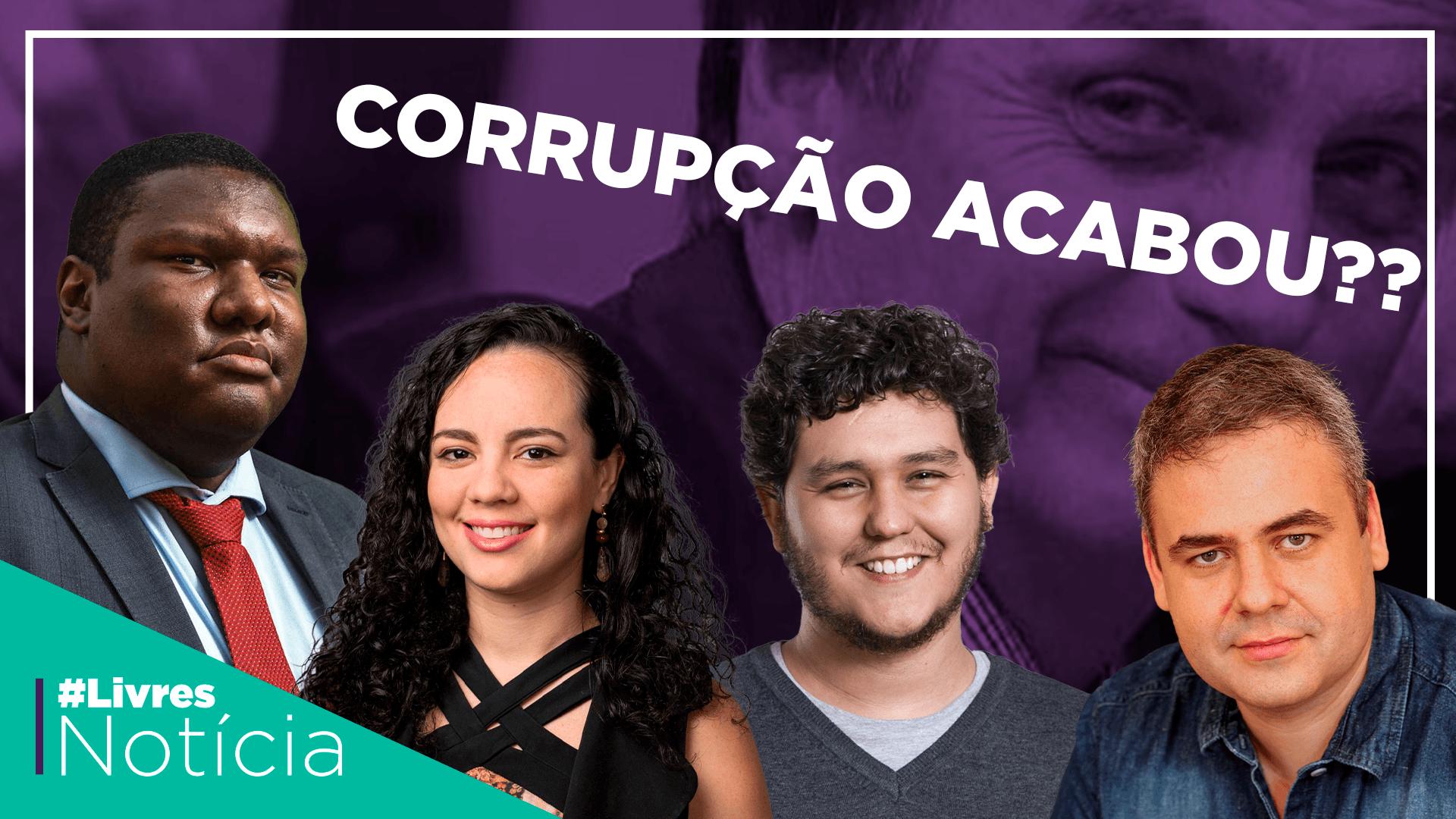 Corrupção no governo Bolsonaro: é o fim? | LivresNotícia AO VIVO – 09/10