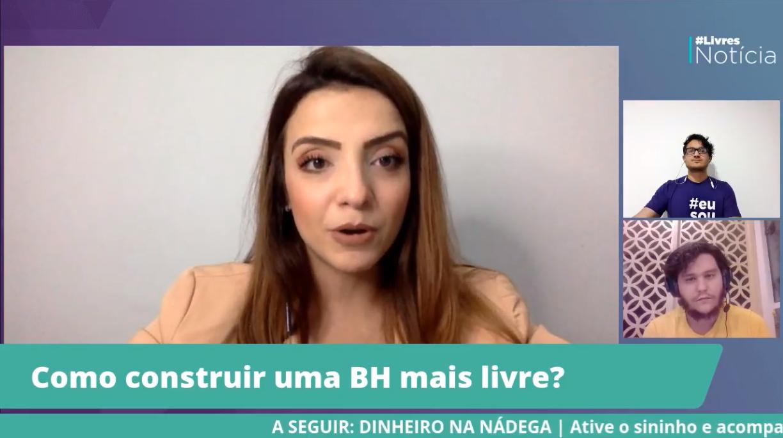 """Marcela Trópia: """"Construir uma BH mais livre começa por cortar privilégios"""""""