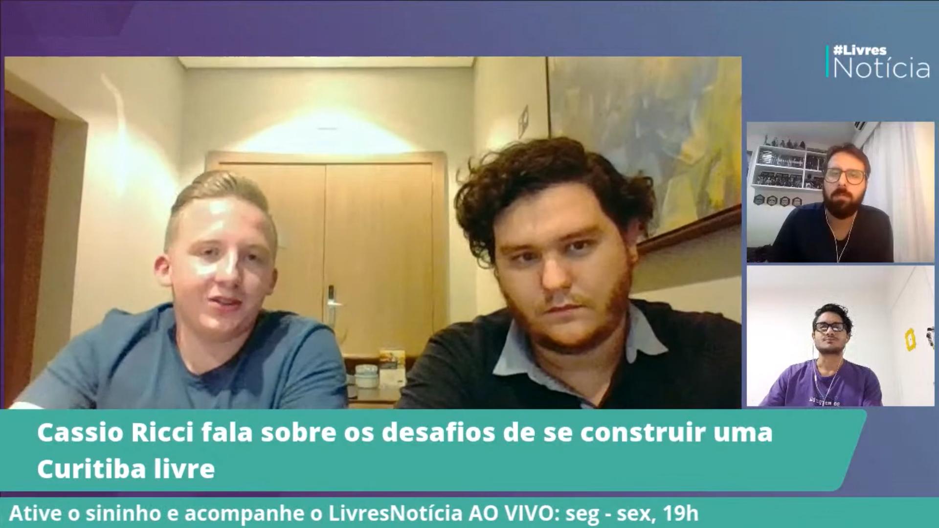 """Cassio Ricci: """"Os jovens estão cada vez mais querendo se envolver na política"""""""