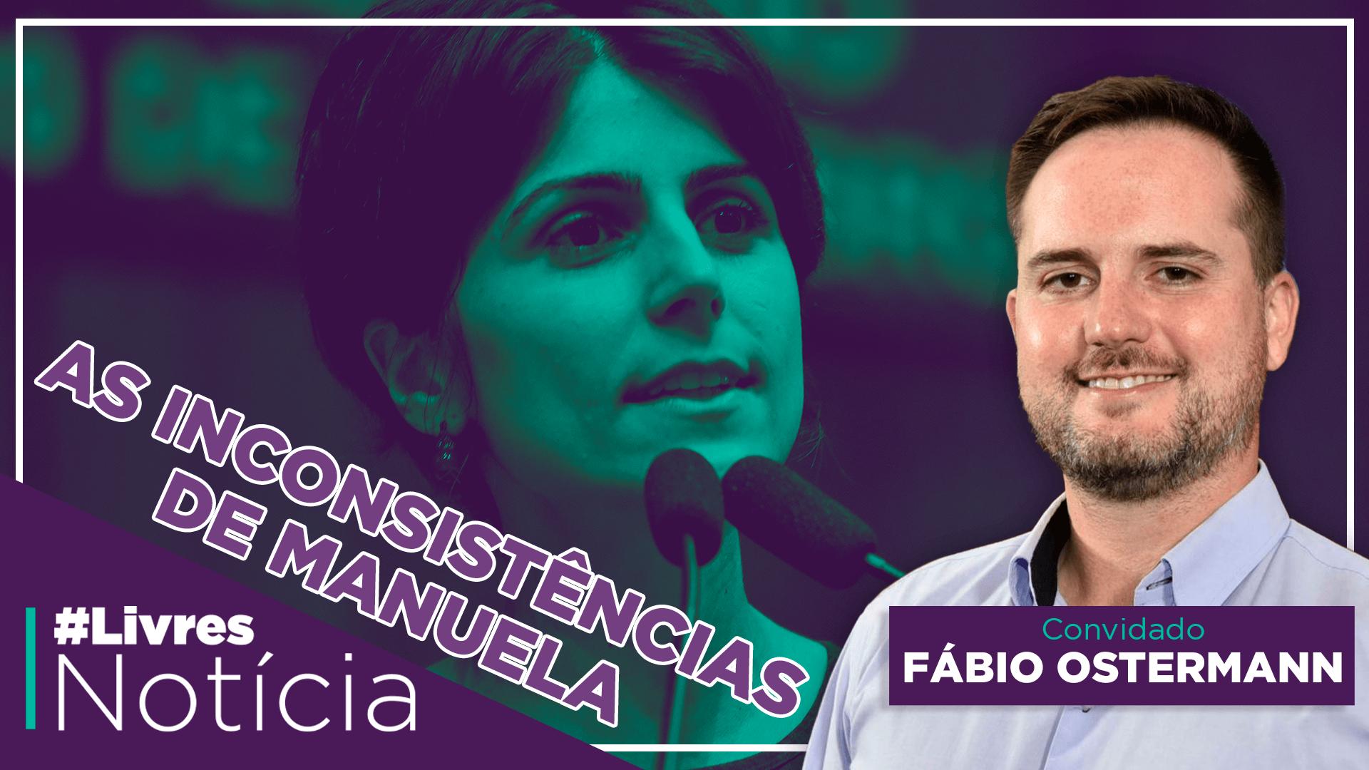 Manuela D'Ávila é moderada? | LivresNotícia AO VIVO – 24/11