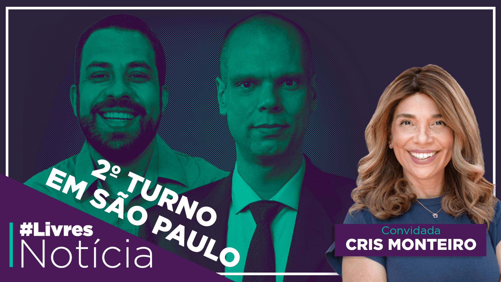 Desafios da liberdade e 2o turno em São Paulo | #LivresNotícia AO VIVO – 25/11
