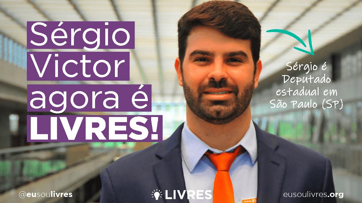 Deputado estadual Sérgio Victor agora é LIVRES!