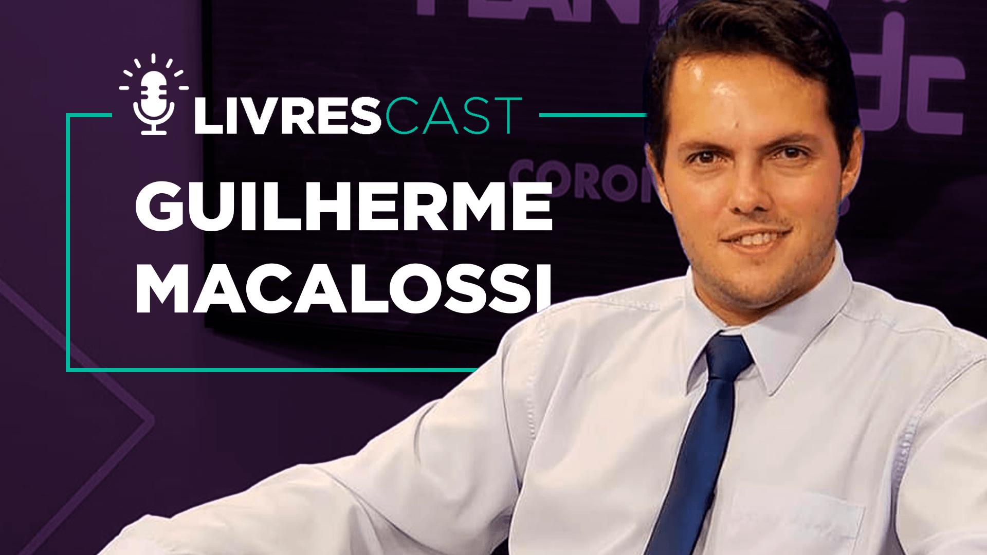 LivresCast ao vivo com o jornalista Guilherme Macalossi