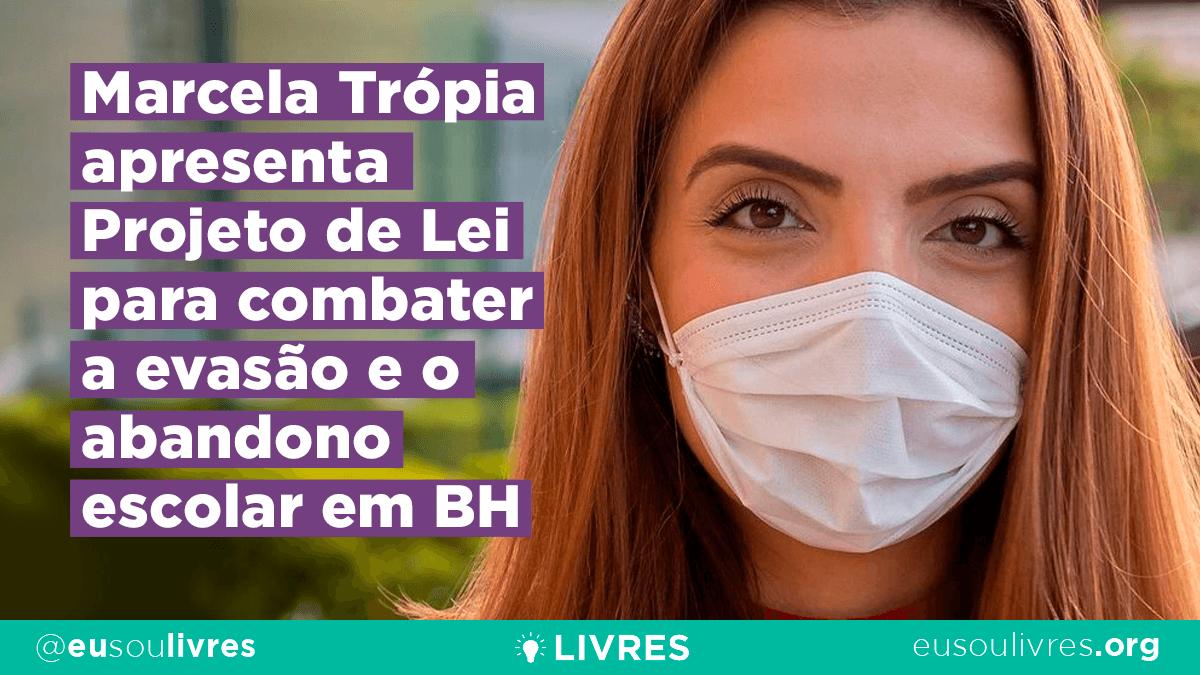 Marcela Trópia apresenta Projeto de Lei para combater a evasão e o abandono escolar em BH