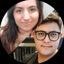 Fernanda Pimentel e Matheus Leone