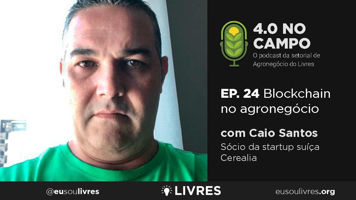 4.0 no Campo: Caio Santos
