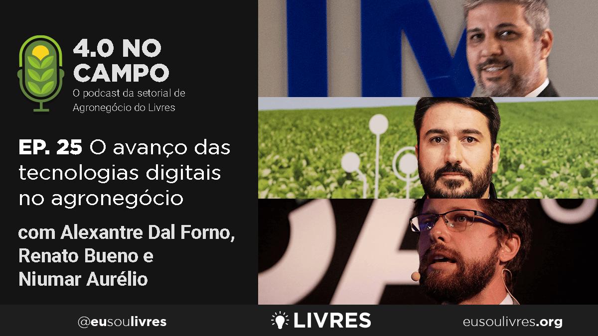4.0 no Campo: Renato Bueno, Niumar Aurélio e Alexandre Dal Forno